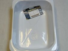 Sturdy Reusable Large Plastic Sink Insert With Drain. White - High Quality Gloss