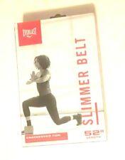 "Everlast Slimmer Belt Tone Abdominal Muscles Compress-X Tech Adjustable 52"""