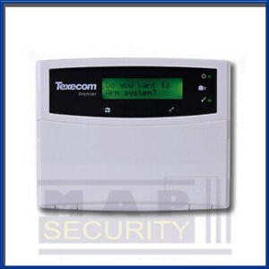 TEXECOM PREMIER ELITE LCD KEYPAD DBA-0001 - UK STOCK