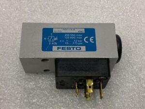 Festo PEV-1/4-B Pneumatic Pressure Switch Used Good Condition