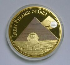 7 Wonders of the Ancient World Medal, Great Pyramid of Giza - Sphinx