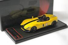 1:43 BBR Ferrari Monza SP2 Giallo Modena/ black stripe - Limited 78 pcs.