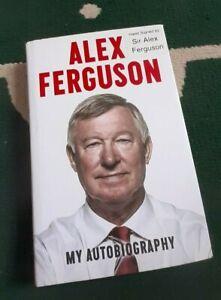 🔥Sir Alex Ferguson Hand Signed Book, Manchester United, Rare Hard Back. 🔥