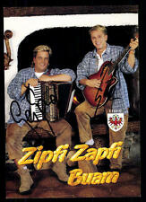 Zipfi Zapfi Buam Autogrammkarte Original Signiert ## BC 48610