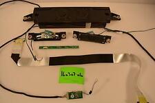 Samsung LN40A530P1F C Small Parts Repair Kit SPEAKERS;LVDS CABLE;CONTROLS;IR SEN