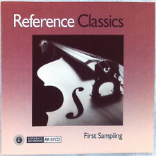 REFERENCE CLASSICS: FIRST SAMPLING (CD 1990 Reference Recordings USA) p No Case