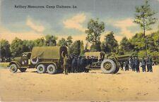 Artillery Maneuvers, Camp Claiborne, LA.
