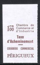 FRANCE - Timbre de grève 1974 Périgueux Catalogue Maury N° 33- Cote 100€