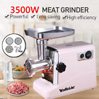 3500W Electric Meat Grinder Sausage Stuffer Mincer Home Appliances With Blades photo