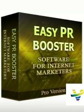 New Easy PR Booster W/ Master Resell Rights + 10 Bonus Software W/ MRR PLR