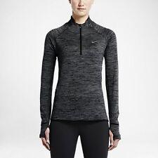 Women's Nike Sphere Element Half Zip Long Sleeve Running Top 686963 010 Size Sm
