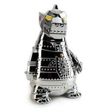 """SDCC 2019 Kidrobot Mecha Godzilla 8"""" Vinyl Art Figure Chrome Electroplate LE 500"""