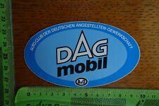 Alter Aufkleber Verkehr PKW LKW Krad AvD Autoclub der DAG
