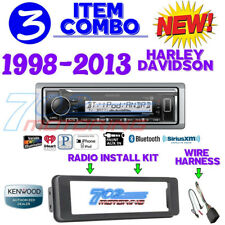 FOR HARLEY TOURING MARINE KENWOOD KMR-M322BT BLUETOOTH RADIO STEREO ADAPTER KIT
