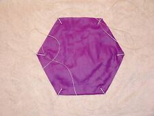 """Rip Stop Nylon Parachute 12"""" Purple"""
