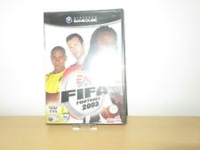 Nintendo Gamecube Jeu FIFA Football 2003 emballage D'origine avec Manuel (à 18)