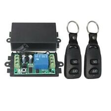DC 12V 10A Relay 1CH Channel Wireless RF Remote Control Switch  + 2 Transmitter