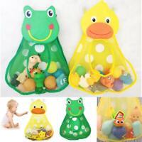 2 Type Cups Bathroom Organizer Baby Shower Storage Net Holder Bath Toys Mesh Bag