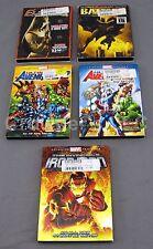 Elektra, Ultimate Avengers 1 & 2, The Invincible Ironman, Batman - Complete 1943
