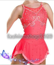 2018 New Gorgeous Figure Ice Skating Dress Dance Dress For Competition xx246