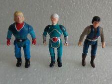 Vintage 1987 Tyco Dino Riders Diplodocus Questar Mind-Aei & Aries Lot 3 Figures