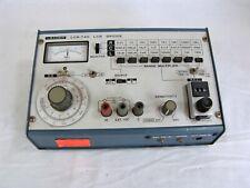 Vtg Leader Lcr 740 Lcr Bridge Inductance Capacitance Resistance Meter 1980 Japan
