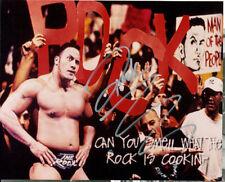 The Rock (Dwayne Johnson) signed authentic 8x10 photo COA