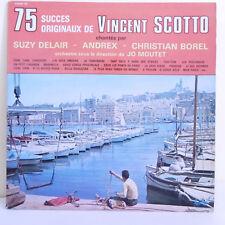 """2 x 33T S. DELAIR - ANDREX -C. BOREL Vinyles LP 12"""" 75 SUCCES de Vincent SCOTTO"""