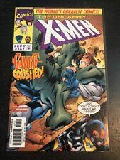 Uncanny X-men#347 Incredible Condition 9.4(1998) Madureira Art!!