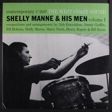 SHEELY MANNE: The West Coast Sound LP (OJC re, sl corner bend) Jazz