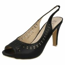 Anne Michelle Slip On Synthetic Heels for Women