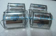 1 Lead Polystyrene Film High Voltage Capacitor Cb80 30kv 3000pf 4 Marx Generator