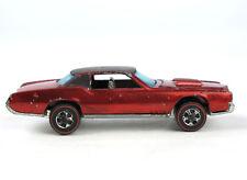 HOT WHEELS 6218 Redliner 1968 Cadillac CUSTOM ELDORADO rot metallic red 1:64