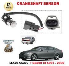 FOR LEXUS GS300 + T3 3.0 2JZ-GE 1997-2005 CRANKSHAFT CRANK SHAFT ANGLE SENSOR