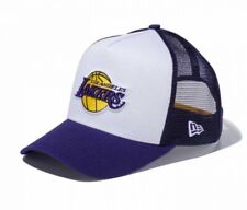 NEW ERA 9FORTY D-Frame Trucker Mesh Cap NBA Los Angeles Lakers Japan Tracking