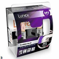Lunex H1 Halógeno Bombillas De Los Faros Coche Azul de plasma efecto Azul 4200K Twin