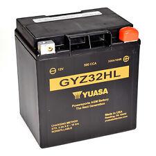 Genuine Yuasa GYZ32HL 12V 32Ah 500A CCA High Power Motorbike Motorcycle Battery