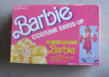 Vintage 1989 Barbie Costume Dress-up Cheerleader Barbie Mattel Ben Cooper in Box