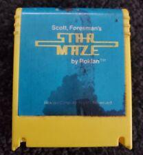Super Rare Atari 400/800/XL/XE Computer Game - Star Maze by Roklan TESTED