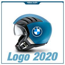2 pegatinas casco de moto BMW GS 1200 1250 Motorrad logo 2020 stickers vinilo