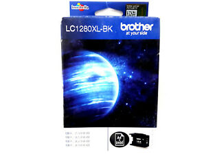 BROTHER LC 1280 XL BK 2400p Black Noir Schwarz Nero CARTOUCHE ORIGINAL GENUINE