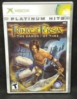 Prince of Persia Sands  - Original Microsoft Xbox Game 1 Owner Near Mint Disc
