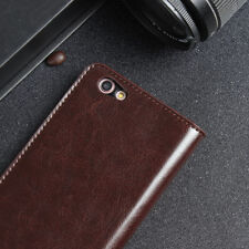 Real Genuine Leather Flip Wallet Case Cover For Apple iPhone 6S Plus X/7/8/6Plus