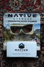 NEW NATIVE EYEWEAR ROAN, SUNGLASSES premium polarized, Oakley, ray ban