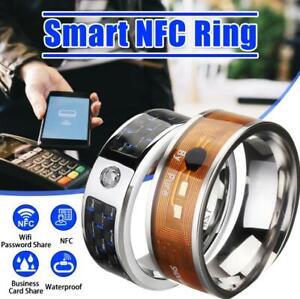 NFC Multifunctional Waterproof Intelligent Ring Smart Wear Finger Digital 2021