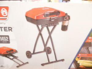 Coleman Gas Grill Portable Propane Grill Sportster Grill - Red
