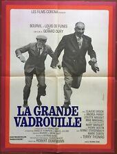 Affiche LA GRANDE VADROUILLE Gérard Oury LOUIS DE FUNES Bourvil 60x80cm