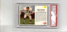 psa 4 1962 post cereal alex karras detroit lions card 50