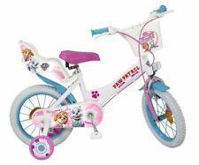 14 Zoll Kinder Kinderfahrrad Mädchenfahrrad Disney Fahrrad Rad Bike Paw Patrol W