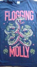 FLOGGING MOLLY - Snake T-Shirt Size Small.Folk Punk,Dropkick Murphys,The Pogues